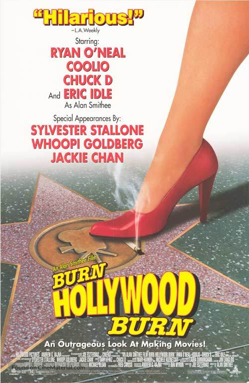 An Alan Smithee Film: Burn Hollywood Burn - Movie Poster