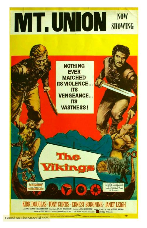 The Vikings - Movie Poster