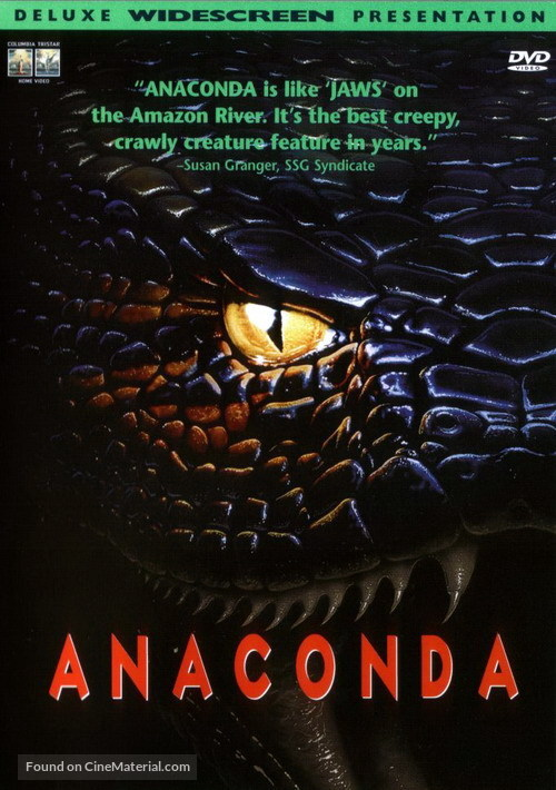 Anaconda - DVD movie cover