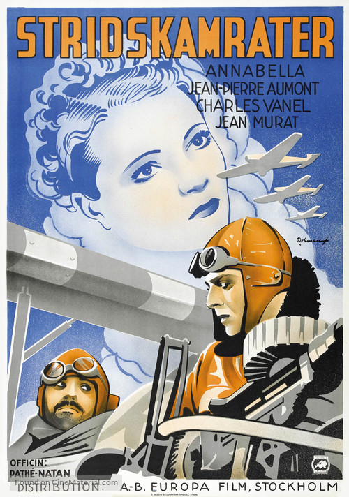 L'équipage - Swedish Movie Poster