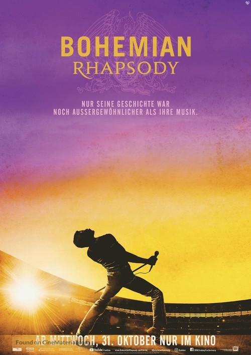 Bohemian Rhapsody - German Movie Poster