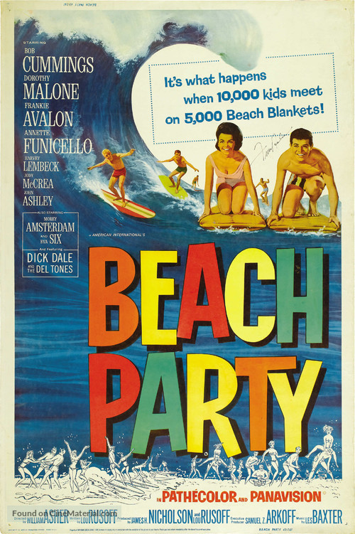 Beach Party - Movie Poster