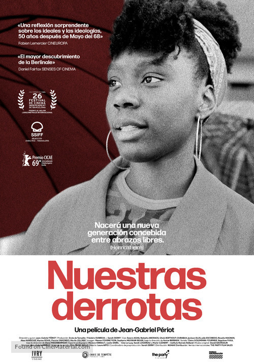 Nos défaites - Spanish Movie Poster