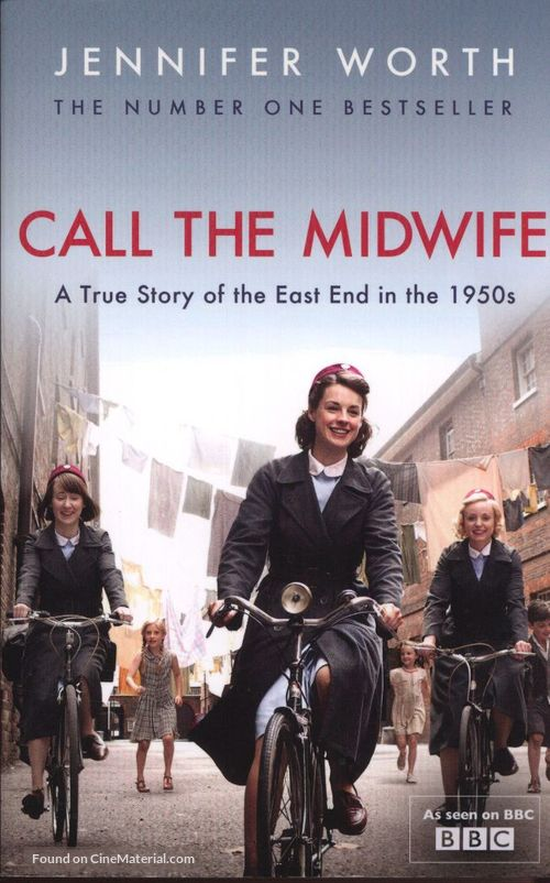 """""""Call the Midwife"""" - DVD movie cover"""