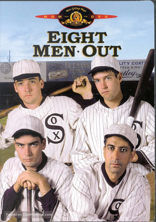 Eight Men Out - DVD movie cover