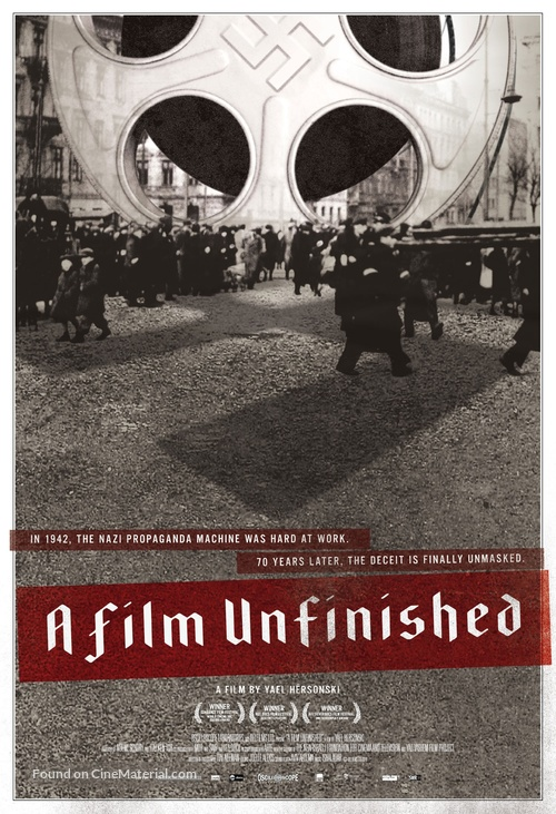 A Film Unfinished - Movie Poster