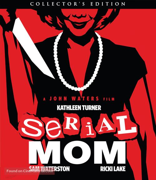 Serial Mom - Blu-Ray movie cover
