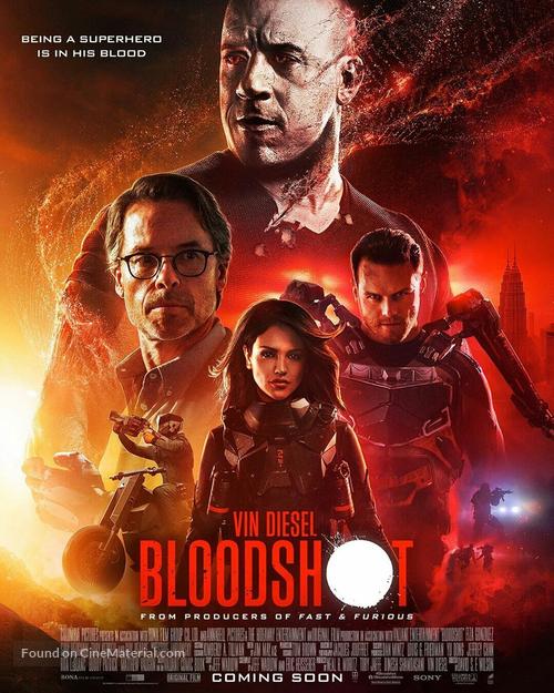 Bloodshot - International Movie Poster