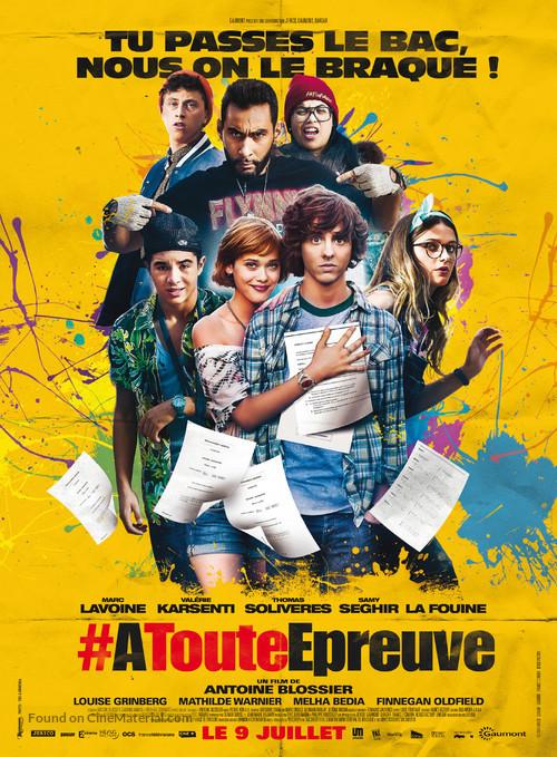 À toute épreuve - French Movie Poster