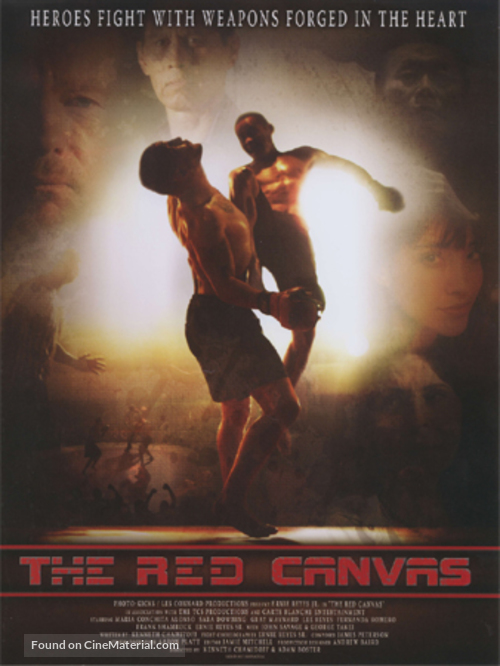 The Red Canvas - Movie Poster