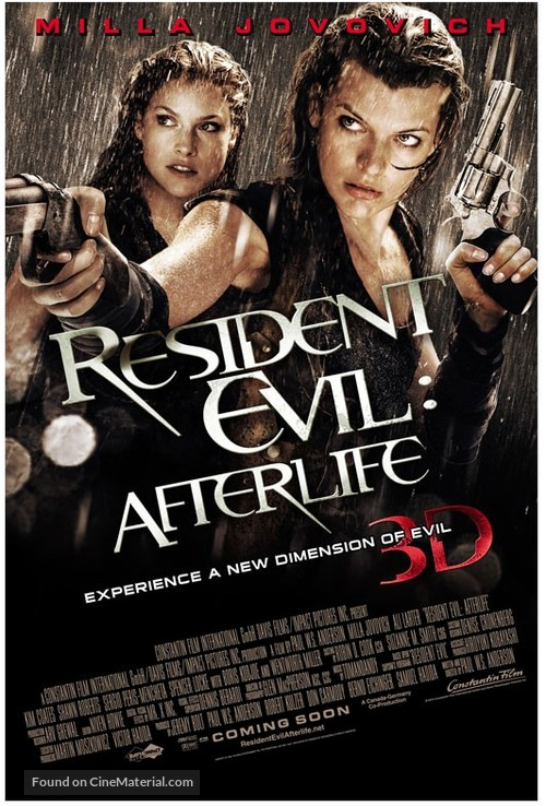 Resident Evil Afterlife 2010 Thai Movie Poster