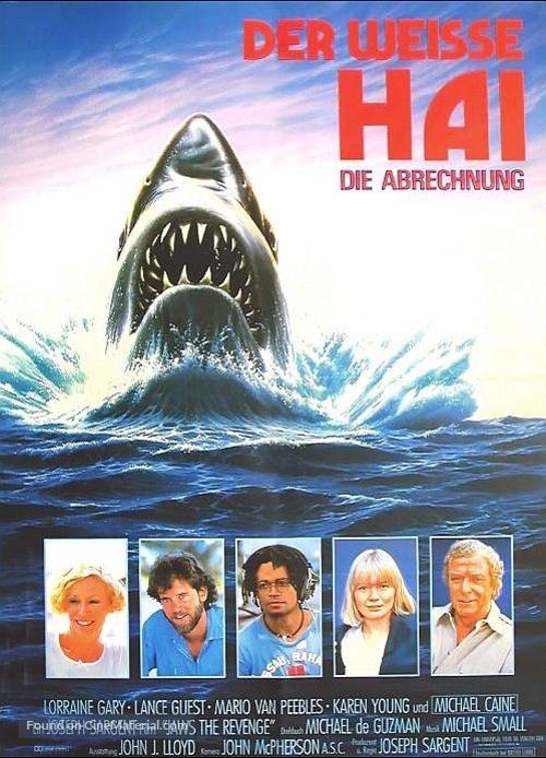 Jaws: The Revenge - German Movie Poster