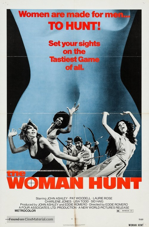 The Woman Hunt - Movie Poster