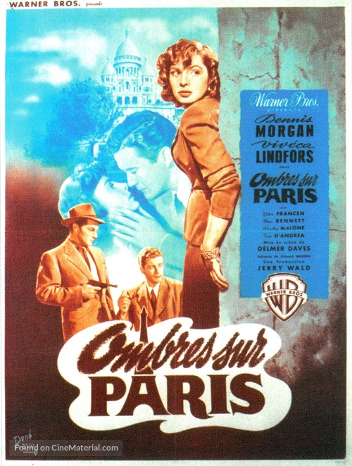 To the Victor - French Movie Poster