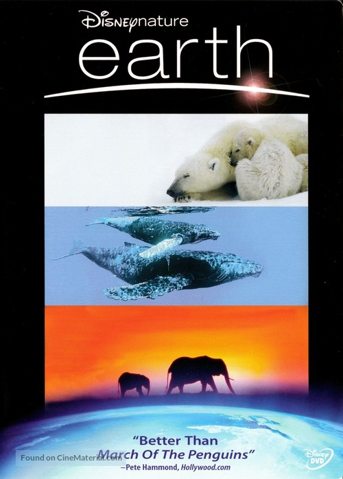 Earth - DVD movie cover