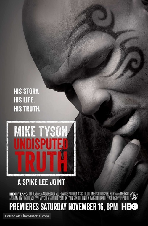 Mike Tyson: Undisputed Truth - Movie Poster