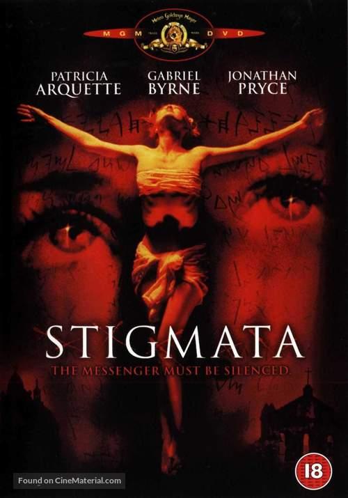 Stigmata - British DVD movie cover
