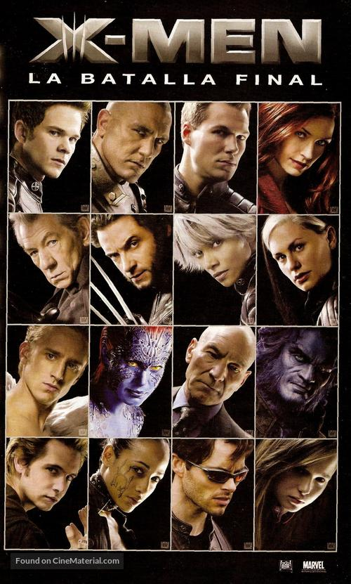 xmen the last stand argentinian movie poster