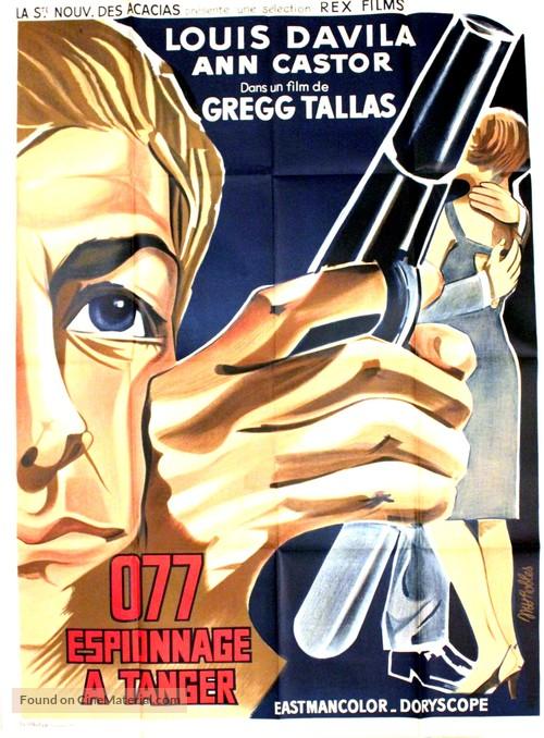 Marc Mato, agente S. 077 - French Movie Poster