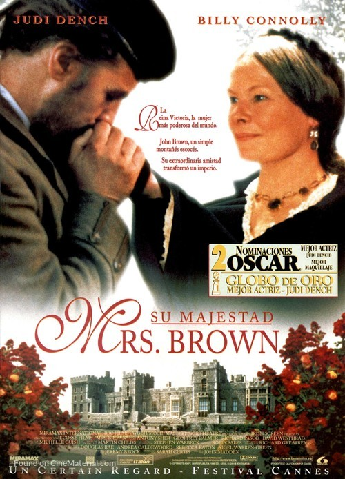 Mrs. Brown - Spanish Movie Poster