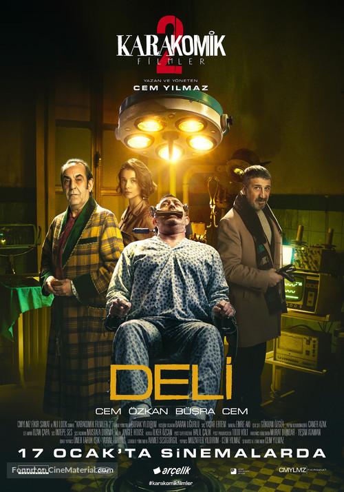 Karakomik Filmler: Deli - Turkish Movie Poster