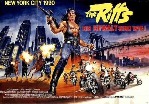 1990: I guerrieri del Bronx - German Movie Poster