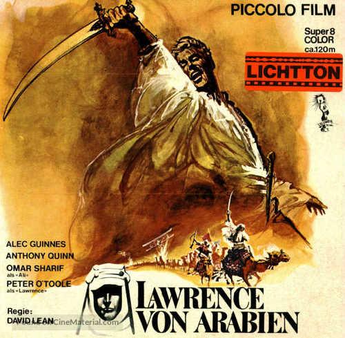 Lawrence of Arabia - German Movie Cover