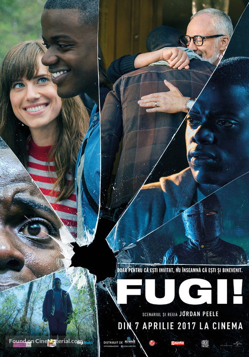 Get Out - Romanian Movie Poster