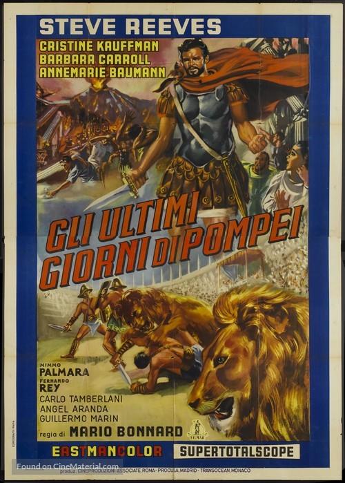 Ultimi giorni di Pompei, Gli - Italian Movie Poster