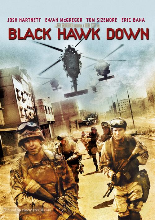 Black Hawk Down - DVD movie cover