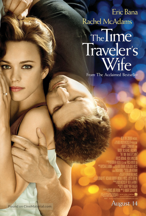 The Time Traveler's Wife - Advance movie poster