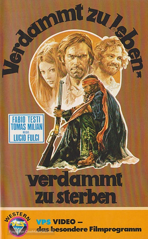 Quattro dell'apocalisse, I - German VHS movie cover