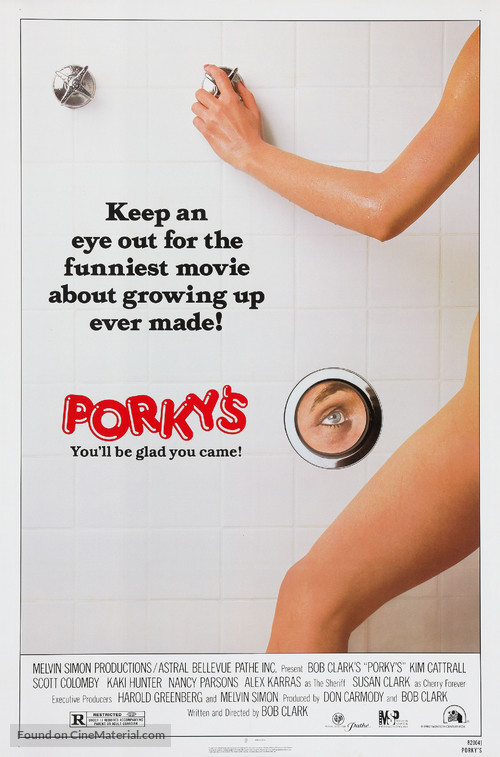 Porky's - Theatrical poster