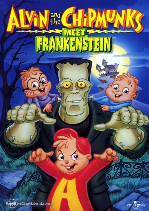 Alvin and the Chipmunks Meet Frankenstein - DVD movie cover