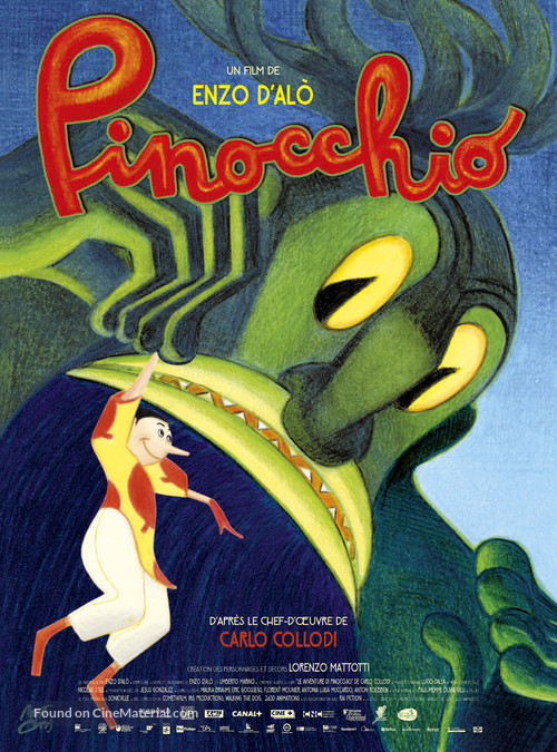 Pinocchio - French Movie Poster
