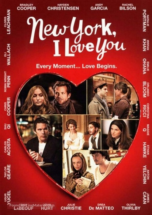 New York, I Love You - Movie Poster