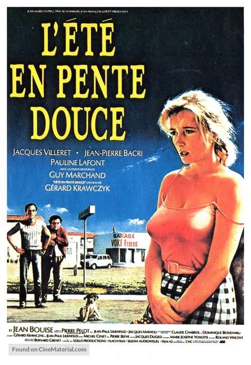 L'été en pente douce - French Movie Poster