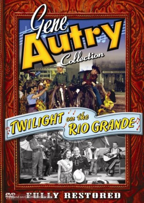 Twilight on the Rio Grande - DVD movie cover