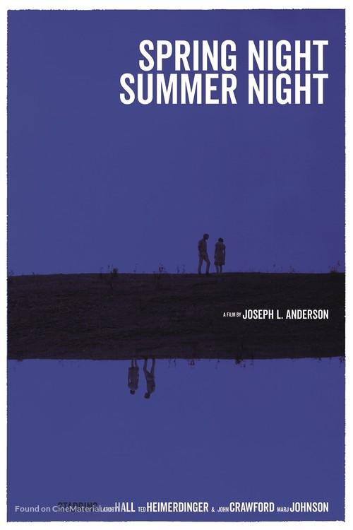 Spring Night, Summer Night - Italian Movie Poster
