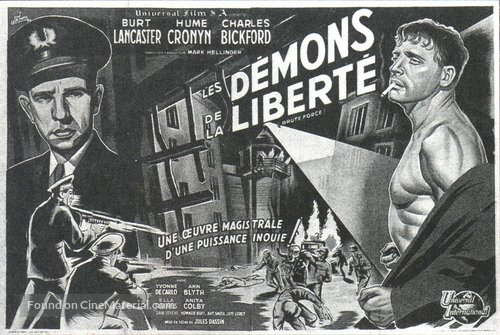 Brute Force - French Movie Poster