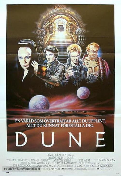 Dune - Swedish Movie Poster