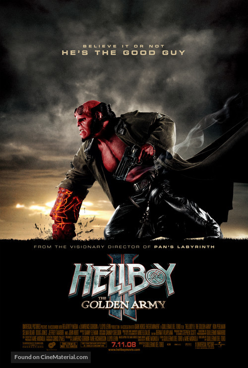 Hellboy II: The Golden Army - Movie Poster