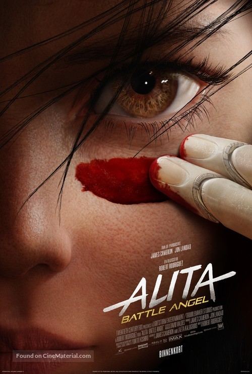 Alita: Battle Angel - Belgian Movie Poster