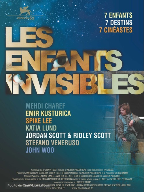 All the Invisible Children - French Movie Poster