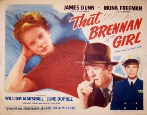 That Brennan Girl - Movie Poster