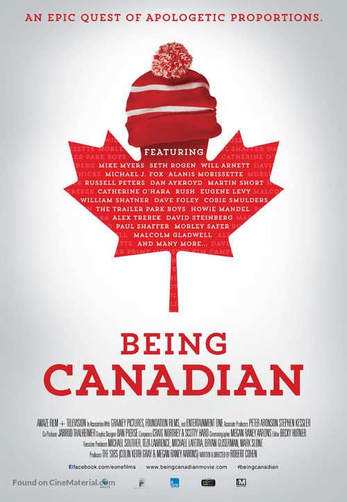 Being Canadian - Canadian Movie Poster