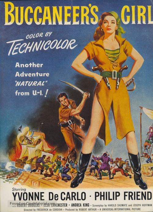 Buccaneer's Girl - Movie Poster