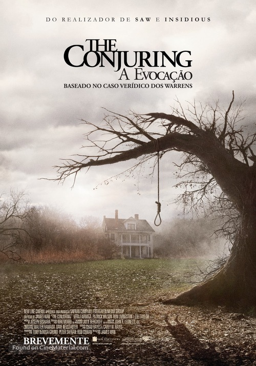 The Conjuring - Portuguese Movie Poster