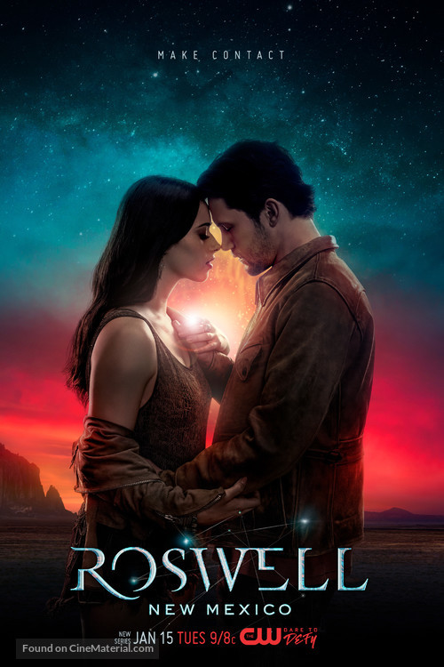 """Roswell, New Mexico"" - Movie Poster"