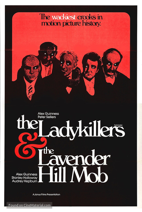 The Ladykillers - Combo movie poster